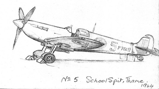 No5 School Spit - Copyright June Gummer, by permission of Wg Cdr Alan Watkinson